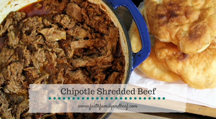 Chipotle Shredded Beef