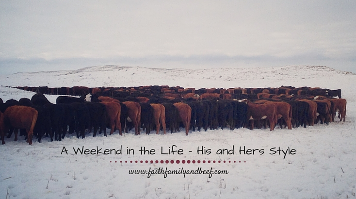 A Weekend in the Life – His and Hers Style