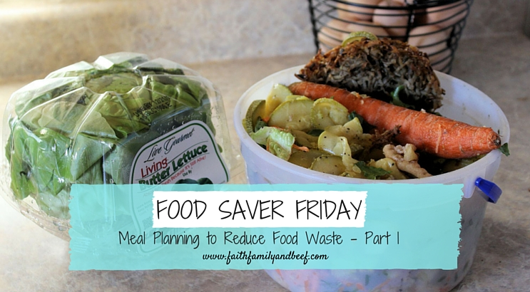 Food Saver Friday – Meal Planning to Reduce Food Waste Part 1