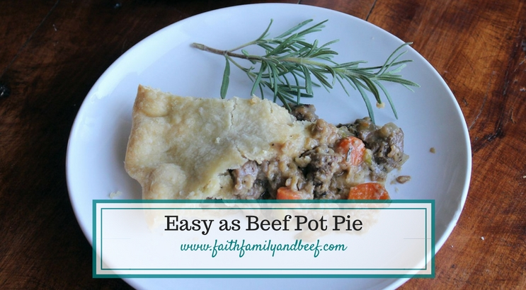 Easy as Beef Pot Pie
