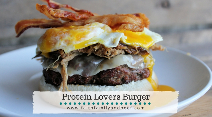 Protein Lovers Burger