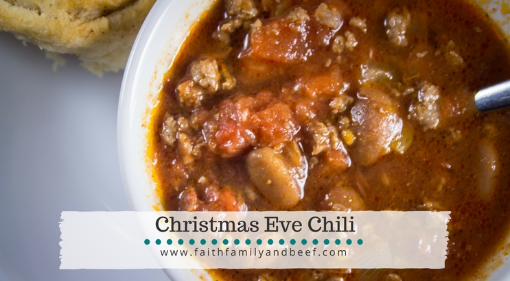 Christmas Eve Chili Soup
