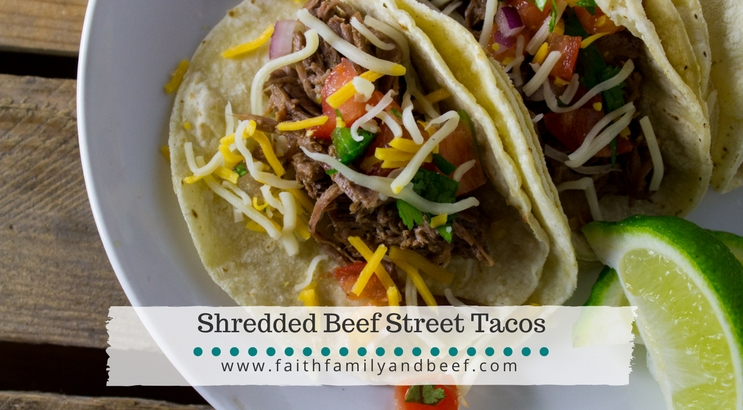 Shredded Beef Street Tacos