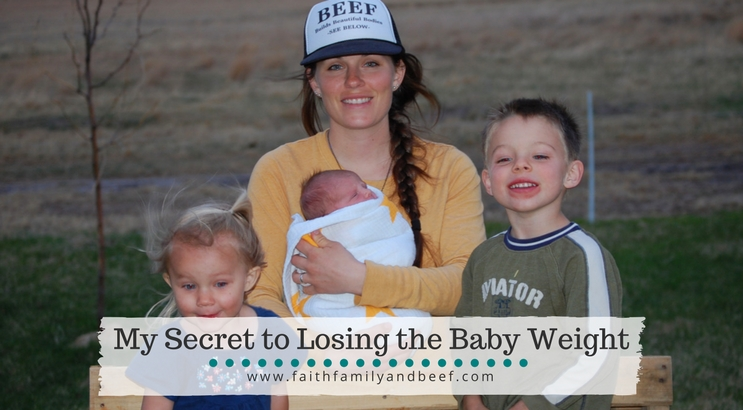 My Secret to Losing the Baby Weight - a cautionary tale of what NOT to do in the first weeks postpartum.