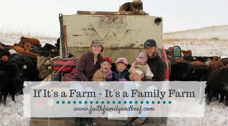 If It's A Farm – It's A Family Farm