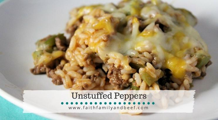 Unstuffed Peppers