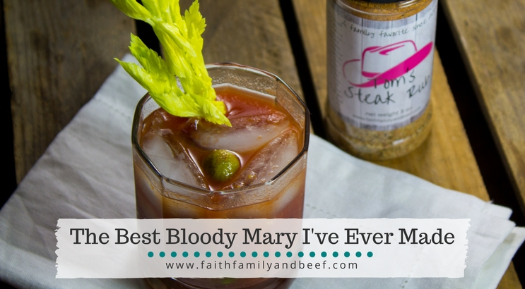 The Best Bloody Mary I've Ever Made