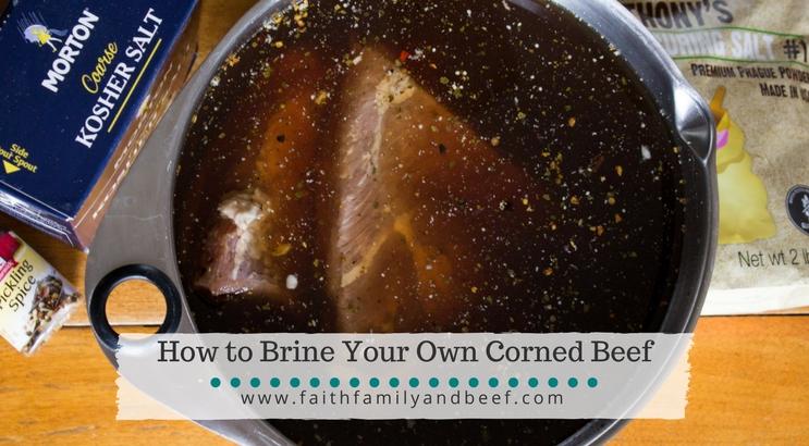 Brine Corned Beef at home.