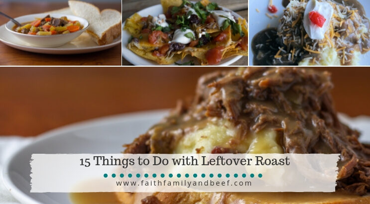 15 Things to Do with Leftover Roast