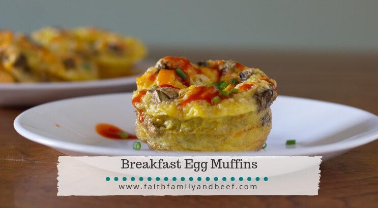 Breakfast Egg Muffins with Tom's Steak Rub