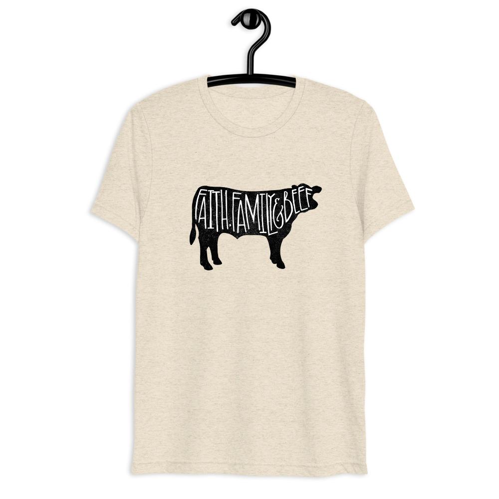 Grunge Cow Uni-sex Short Sleeve T-shirt